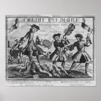 El crédito es muerto, los malos deudores ha matado impresiones