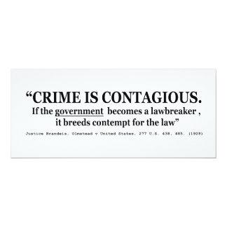 El crimen es Olmstead contagioso v Estados Unidos Invitación