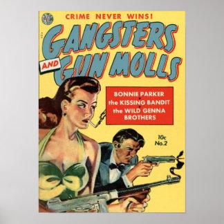 El crimen nunca gana posters