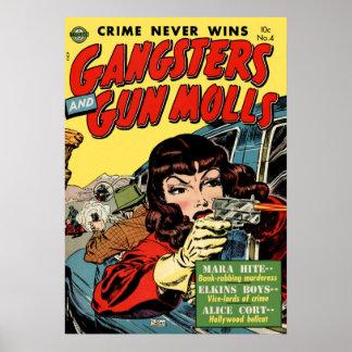 El crimen nunca gana póster