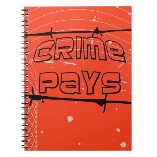 el crimen paga libros de apuntes