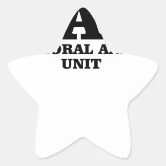 El criminal importa del camisetas de la unidad del pegatina en forma de estrella