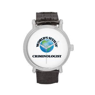 El criminalista más atractivo del mundo relojes de mano