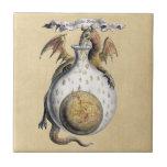El crisol del dragón tejas  cerámicas