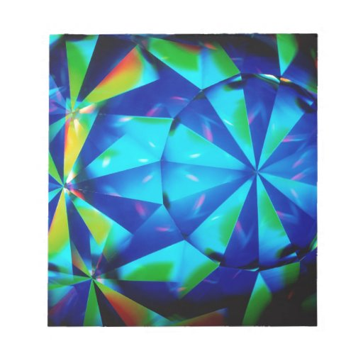 El cristal abstracto refleja al payaso blocs