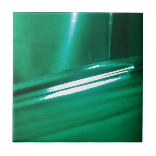 El cristal abstracto refleja el caucho azulejo cuadrado pequeño