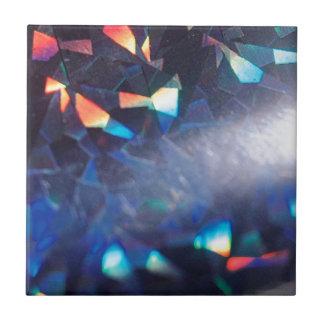 El cristal abstracto refleja en mezcla azulejo