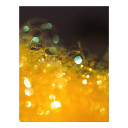 El cristal abstracto refleja la miel membrete