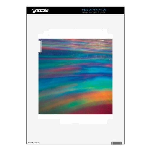 El cristal abstracto refleja la pintura calcomanías para iPad 2