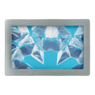 El cristal abstracto refleja la rotura hebillas cinturón