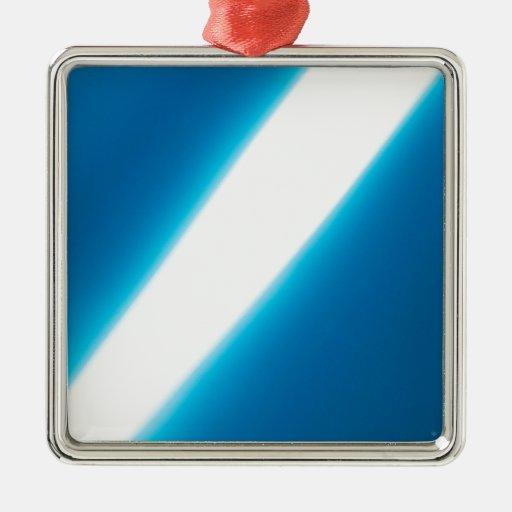 El cristal abstracto refleja ligeramente ornatos