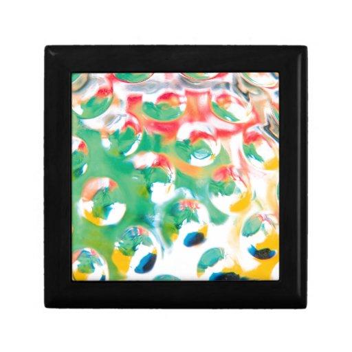 El cristal abstracto refleja Marte Cajas De Regalo