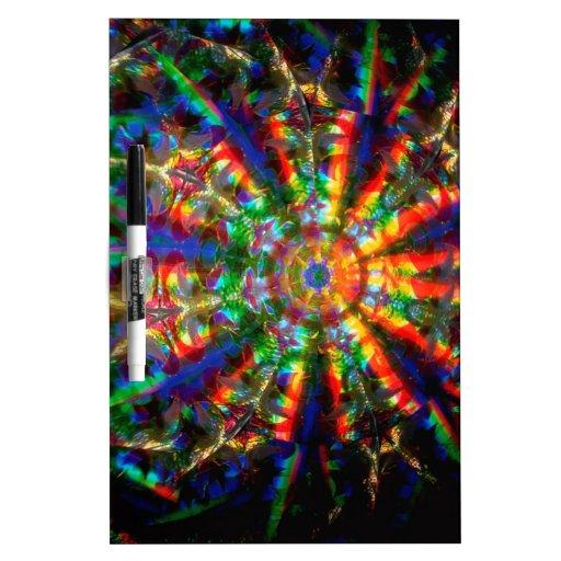 El cristal abstracto refleja navidad pizarras