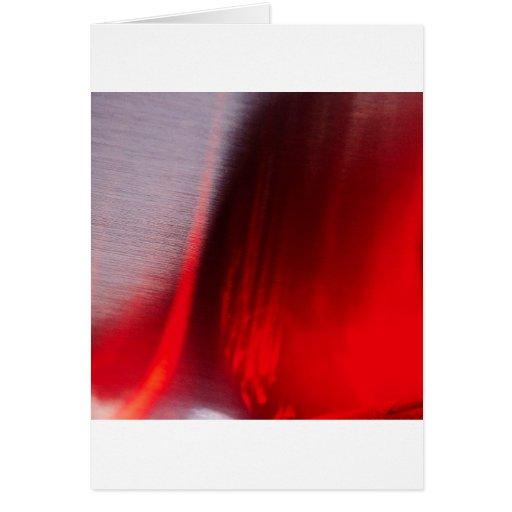 El cristal abstracto refleja Satan Tarjeta De Felicitación