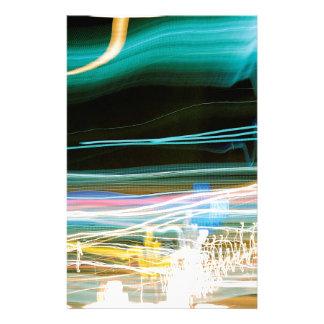 El cristal abstracto refleja Sonic Papeleria