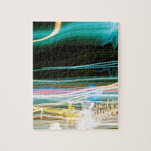 El cristal abstracto refleja Sonic Rompecabeza