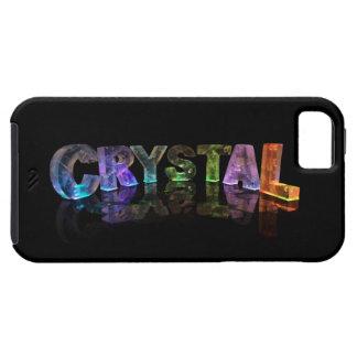 El cristal conocido en las luces 3D iPhone 5 Case-Mate Coberturas