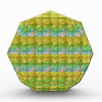 El cristal verde de oro de GOODLUCK gotea los