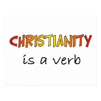 El cristianismo es un verbo postal