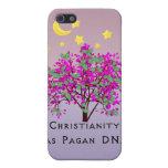 El cristianismo tiene DNA del Pagan iPhone 5 Protector
