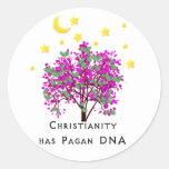 El cristianismo tiene DNA del Pagan Pegatina