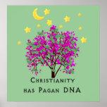El cristianismo tiene DNA del Pagan Poster