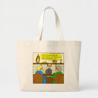 el cristiano 490 escoge el dibujo animado bolsa tela grande