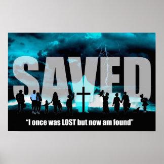 El cristiano ahorrado del Jesucristo perdió el pos Impresiones