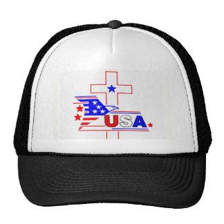 El cristiano americano gorras de camionero