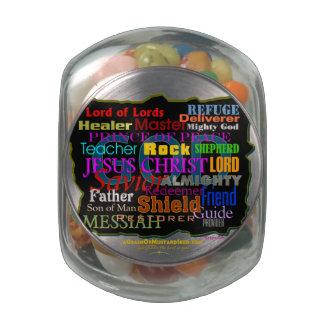 El cristiano cita inspirado frascos de cristal jelly belly