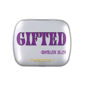 El cristiano cita inspirado latas de caramelos