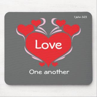 El cristiano cita inspirado mousepad