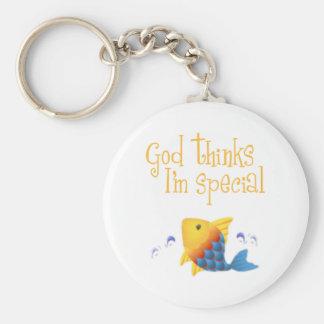 El cristiano embroma el regalo llaveros personalizados