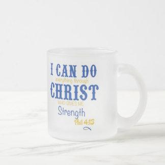 El cristiano gamma de rho de la sigma heló el 4:13 taza de café