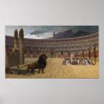 El cristiano Martyrs el rezo pasado Póster
