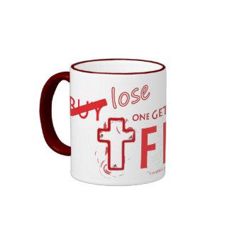 """El cristiano """"pierde uno consigue una"""" taza de"""