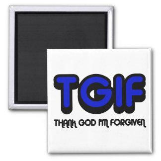 """El cristiano """"TGIF"""" agradece a dios que me perdona Imán De Frigorífico"""