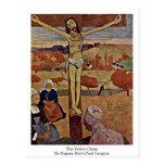 El Cristo amarillo de Eugene Enrique Paul Gauguin Tarjeta Postal