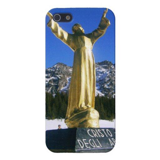 El Cristo del profundo iPhone 5 Fundas
