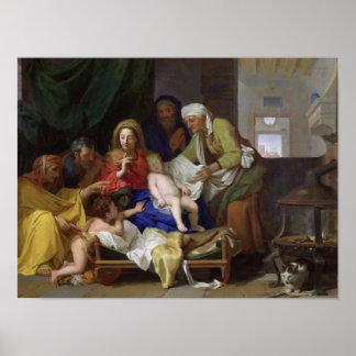 El Cristo durmiente 1655 Poster