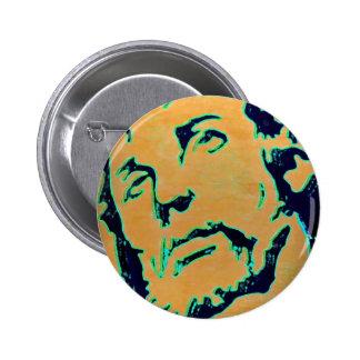 El Cristo Pin Redondo De 2 Pulgadas