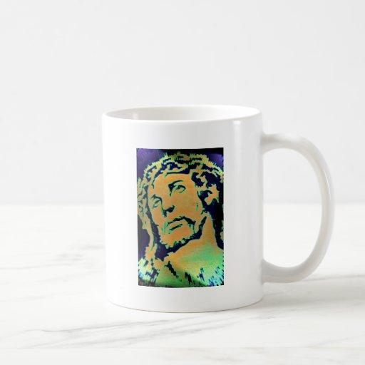El Cristo Taza Básica Blanca