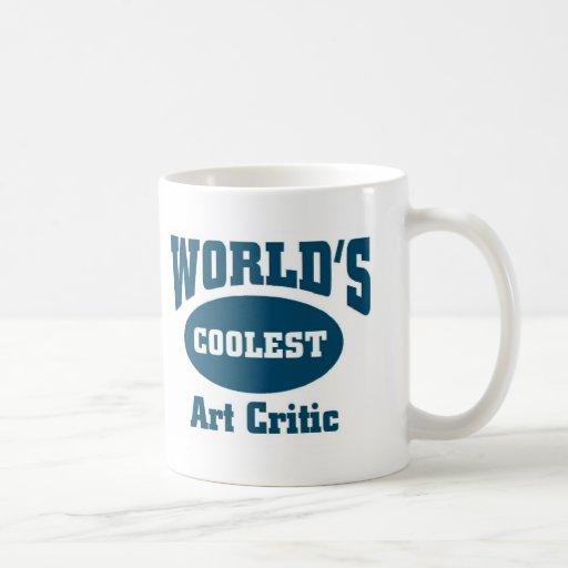 El crítico más fresco del arte tazas