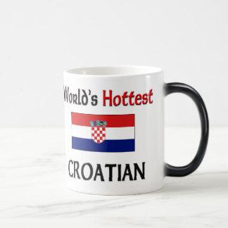 El croata más caliente del mundo taza de café
