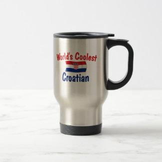 El croata más fresco tazas de café