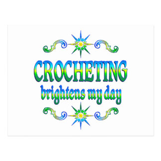 El Crocheting aclara Tarjetas Postales