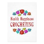 El Crocheting de la felicidad de la salud Comunicados Personales