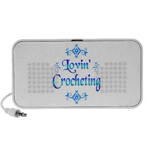El Crocheting de Lovin iPhone Altavoces