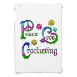 El Crocheting del amor de la paz