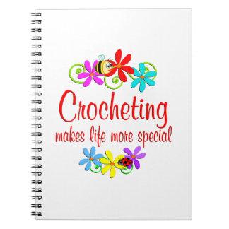 El Crocheting es especial Libro De Apuntes Con Espiral